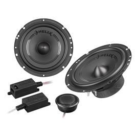 "HELIX F 62C - 2-way loudspeaker component system (16,5 cm / 165 mm / 6,5"" / 60 Watts RMS / 120 Watts Max. / black)"