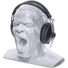"Oehlbach 35414 - Scream Unlimited - headphone stand in the form of the ""Oehlbach head"" (new + larger version of the very popular Oehlbach stand / white)"