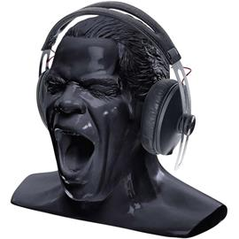 "Oehlbach 35415 - Scream Unlimited - headphone stand in the form of the ""Oehlbach head"" (new + larger version of the very popular Oehlbach stand / black)"