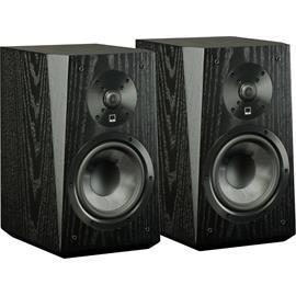 SVS ULTRA Bookshelf - 2-way bookshelf loudspeakers (black oak wood veneer / 20-150 Watts / 1 pair)