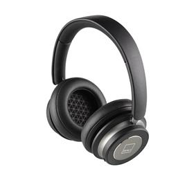Dali IO-6 - premium Bluetooth headphones feat. noise-cancelling (with suppression / incl. various cables / incl. high quality travel case / black = Iron Black)