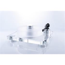 Transrotor LEONARDO 40/60 TMD - high end record player incl. Transrotor - TR800-S tonearm (with chassis made of acrylic / turntable platter made of matt acrylic / incl. counterweight)