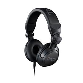 "Technics EAH-DJ1200 - DJ headphones in ""Technics DJ"" design (40 mm driver / 270° swing arm mechanism / incl. cables & connectors / incl. carrying pouch / black)"