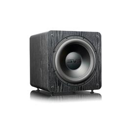 SVS SB-2000 Pro - Active subwoofer (550 Watts RMS continuous power / 1500 Watts maximum peak / front firing 12 inch driver / matt black ash)