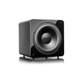 SVS SB-2000 Pro - Active subwoofer (500 Watts RMS continuous power / 1100 Watts maximum peak / front firing 12 inch driver / piano gloss black)