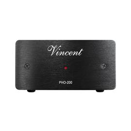 Vincent PHO-200 - phono preamplifier / equalizer preamp (suitable for MM and MC cartridges / for connecting a turntable to an amplifier / black)
