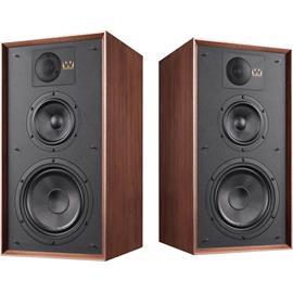 Wharfedale LINTON 85th Anniversary - 3-way bass reflex bookshelf loudspeakers (25-200 Watts recommended amplifier power / walnut finish / 1 pair)