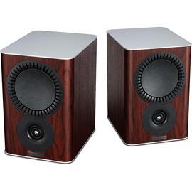 Mission QX-1 - 2-way bass reflex bookshelf loudspeakers rose wood (1 pair)