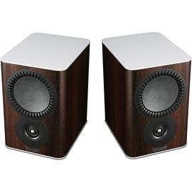 Mission QX-1 - 2-way bass reflex bookshelf loudspeakers walnut pearl (1 pair)