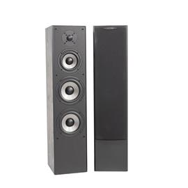 Quadral QUINTAS 606 II - 3-way bass reflex floorstanding loudspeakers (140/280 Watts nominal/music power / black / 1 pair)