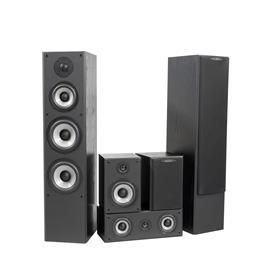 Quadral QUINTAS 6500 II - 5.0 speaker home cinema set (black / 5 pieces)