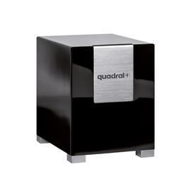 Quadral QUBE 10 - bass reflex active subwoofer (200/280 Watts nominal/music power / woofer = 260 mm Ø / 16.5 kg / black)