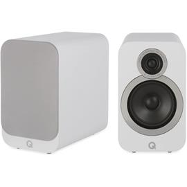 Q Acoustics 3020i - QA3528 - 2-way bass reflex bookshelf loudspeakers (Arctic White / 1 pair)