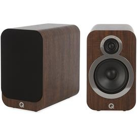 Q Acoustics 3020i - QA3522 - 2-way bass reflex bookshelf loudspeakers (English Walnut / 1 pair)