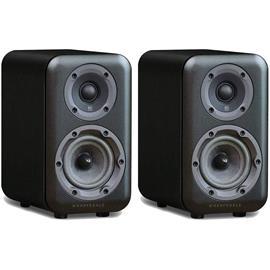 Wharfedale D310 - 2-way bass reflex bookshelf loudspeakers (black (Black Wood) / 1 pair)