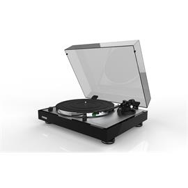 THORENS TD 402 DD - record player in high-gloss black