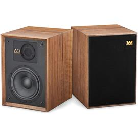 Wharfedale DENTON 85th Anniversary - 2-way bass reflex bookshelf loudspeakers (20-120 Watts recommended amplifier power / walnut veneer / 1 pair)