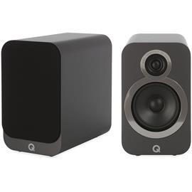 Q Acoustics 3020i - QA3520 - 2-way bass reflex bookshelf loudspeakers (Graphite Grey / 1 pair)