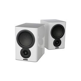 Mission QX-2 - 2-way bass reflex bookshelf loudspeakers high-gloss white (1 pair)