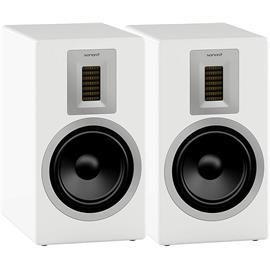 Sonoro ORCHESTRA - 2-way bass reflex hi-fi bookshelf loudspeakers (incl. Air Motion Transformer / white / 1 pair)