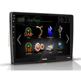 "Zenec Z-E1010 - 10.1 inch infotainer for VW & Skoda (plug & play / 10.1""/ 25.65 cm display / Apple CarPlay / Android Auto / DAB+ tuner / FM RDS radio tuner)"