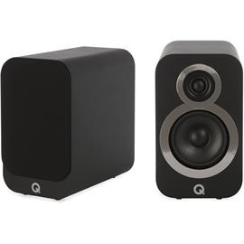 Q Acoustics 3010i - QA3516 - 2-way bass reflex bookshelf loudspeakers (Carbon Black / 1 pair)