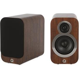 Q Acoustics 3010i - QA3512 - 2-way bass reflex bookshelf loudspeakers (English Walnut / 1 pair)