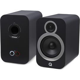 Q Acoustics 3030i - QA3536 - 2-way bass reflex bookshelf loudspeakers (Carbon Black / 1 pair)