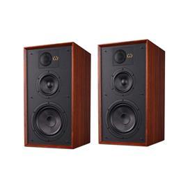 Wharfedale LINTON 85th Anniversary - 3-way bass reflex bookshelf loudspeakers (25-200 Watts recommended amplifier power / mahogany finish / 1 pair)