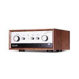Leak Stereo 130 - integrated amplifier (all-rounder in classic walnut housing / class A/B amplifier / analog circuit technology / digital interfaces)