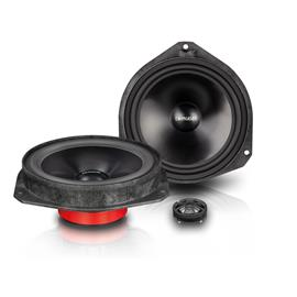 Emphaser EM-FTF1 - plug & play 2-way loudspeaker component system for FIAT Ducato III (16.5 cm / 6.5 inch / 50 Watts RMS / 1 pair)