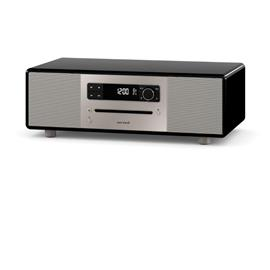 Sonoro LOUNGE - compact system (stereo system with radio / slot-in CD player / BT / UKW/FM / DAB+ / AUX / USB port / MP3 / nature sounds / meditation content / black)