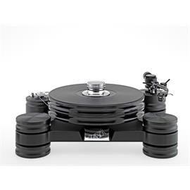 Transrotor DARK STAR - record player in black (only drive with weight 0820-871 / bore TT5 / WITHOUT cartridge / WITHOUT tonearm)