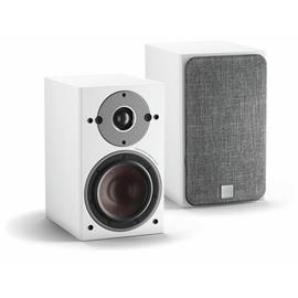DALI Oberon 1 C - wireless bass reflex bookshelf loudspeakers (white / 2x 50 Watts RMS / class D / 1 pair)