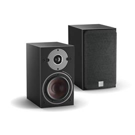 DALI Oberon 1 C - wireless bass reflex bookshelf loudspeakers (black ash / 2x 50 Watts RMS / class D / 1 pair)