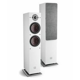 DALI Oberon 7 C - wireless bass reflex floorstanding loudspeakers (white / 2x 50 Watts RMS / class D / 1 pair)