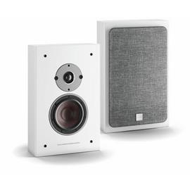 DALI Oberon On-Wall C - wireless bass reflex wall loudspeakers (white / 2x 50 Watts RMS / class D / for wall mounting / 1 pair)