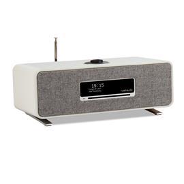 ruarkaudio R3 MKI - hi-fi music system (all-in-one sound system / 30 W / CD / OLED display / DAB / DAB+ / FM tuner / USB / Apt-x Bluetooth / soft grey lacquer)