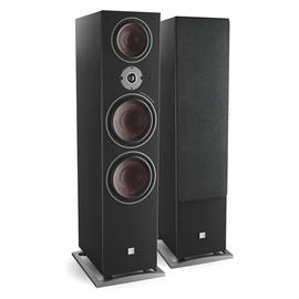 DALI Oberon 9 - 3-Way bass reflex floorstanding loudspeakers (40-400 Watts / black ash / 1 pair)