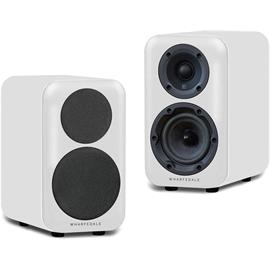 Wharfedale D310 - 2-way bass reflex bookshelf loudspeakers (20-60 Watts recommended amplifier power / white (White Sandex) / 1 pair)