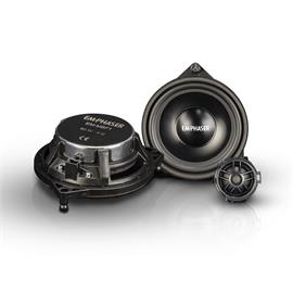 Emphaser EM-MBF1 - front door speakers for Mercedes (10 cm / upgrade loudspeakers for front doors at Mercedes Benz / 30 Watts RMS / 60 Watts max. / 1 pair)