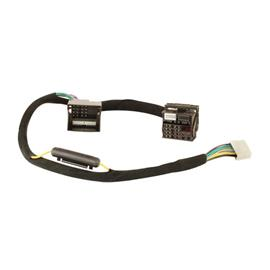 Axton N-A480DSP-ISO5 - connection cable (car-specific adapter cable / for VW + BMW + Ford + Mercedes + Fiat a.m.m. / Quadlock 2 connection / approx. 1.5 m / plug & play)