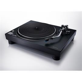 Technics SL-100C - direct drive record player (black / incl.Audio Technica - VM95C - cartridge / dust cover)