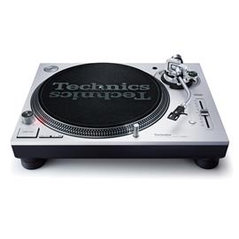 Technics SL-1200MK7 - DJ record player (silver / direct drive turntable with DJ-optimized features / + phono cable / + dust cover)