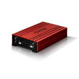 SPECTRON SP-N4400 - 4-channel power amplifier (with 4x 100 Watts at 4 Ohms and 2x 250 Watts at 2 Ohms / class D / high-level inputs with auto-turn-on)