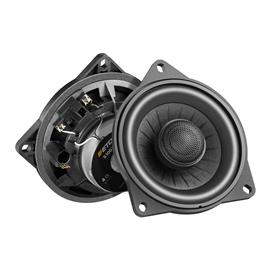 "Eton B100 XC N - single coax loudspeaker for various BMW models (10 cm (4"") / 50 Watts / plug & play sound upgrade / 1 piece)"