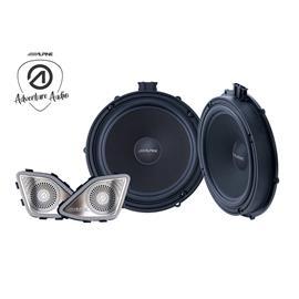 ALPINE SPC-108T6 - 20 cm / 2-way loudspeaker upgrade set for Volkswagen / VW T6 (California / Multivan / Transporter)