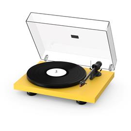 Pro-Ject Debut Carbon EVO - record player (satin golden yellow / incl. tonearm + Ortofon - 2M Red cartridge / dust cover)