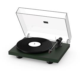 Pro-Ject Debut Carbon EVO - record player (satin fir green / incl. tonearm + Ortofon - 2M Red cartridge / dust cover)