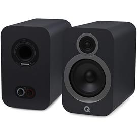 Q Acoustics 3030i - QA3530 - 2-way bass reflex bookshelf loudspeakers (Graphite Grey / 1 pair)